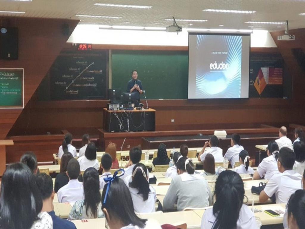 บรรยากาศการจัดสอบคัดเลือกนักเรียนแลกเปลี่ยนรัฐบาล-เดือนพฤศจิกายน